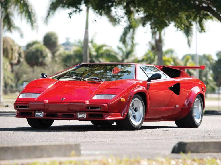 A subasta un exclusivo Lamborghini Countach LP5000 QV de 1986