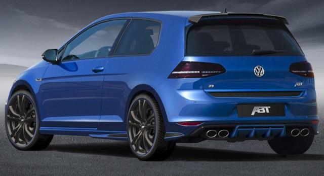 ABT presenta uno de los Volkswagen Golf R más bestias del mercado 2