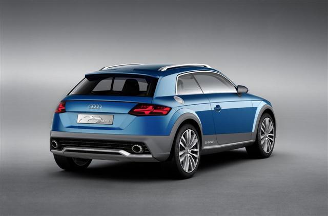Audi aumenta las posibilidades de un TT off-road 2