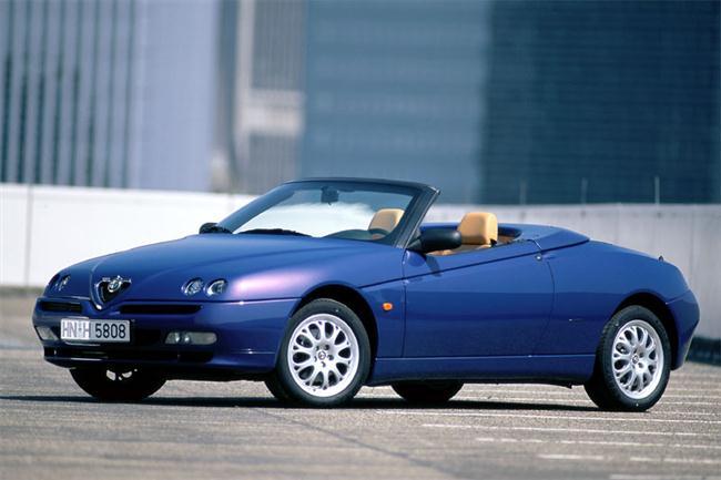 El Alfa Romeo Spider será un auténtico roadster 1