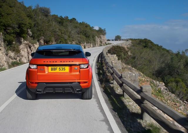 Range Rover llevará a Ginebra un Evoque de 285 caballos