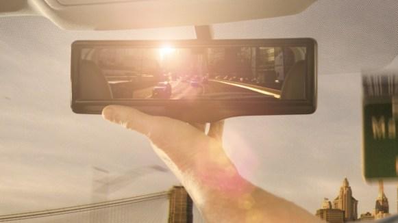 Mirada al futuro: retrovisor inteligente de Nissan