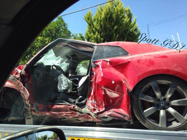 Destrozan un Nissan GT-R en Mexico 2