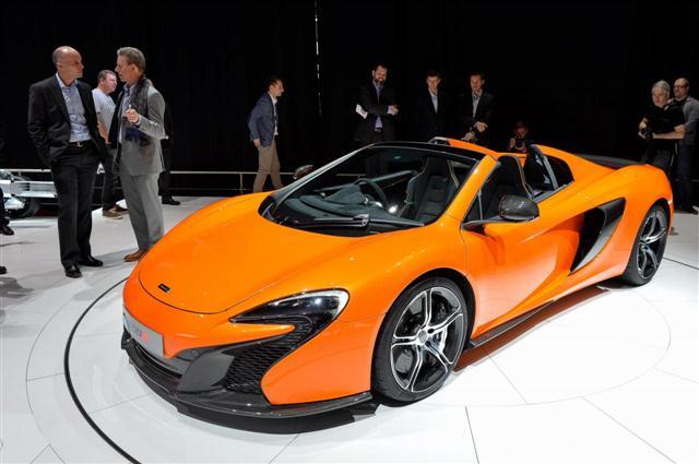 Ginebra 2014: McLaren 650S Spider 1