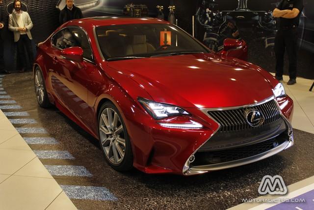 Presentación en Madrid del Lexus RC 2