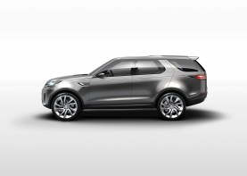 Land Rover Discovery Vision Concept: anticipando el futuro