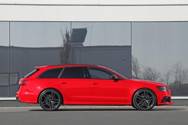 Audi RS6 Avant bajo el rodillo de HPerformance 2