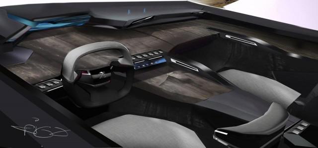Peugeot Exalt Concept: 340 CV a través de un sistema híbrido HYbrid4 3