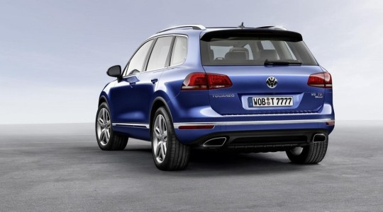 Volkswagen Touareg 2014: Un lavado de cara sin grandes novedades