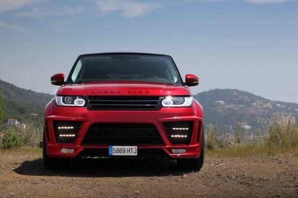Lumma Design nos presenta su Range Rover CLR RS