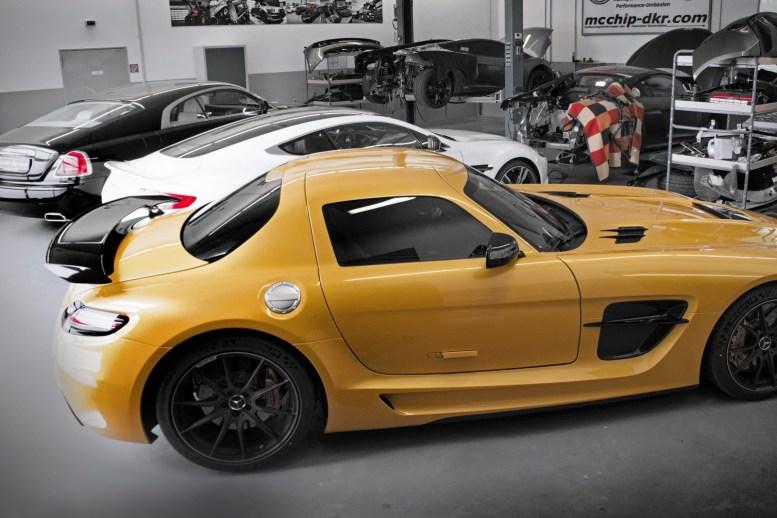 Más potencia para tu Mercedes SLS AMG Black Series gracias a McChip