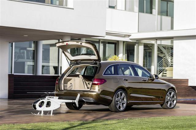 Oficial: 2015 Mercedes Clase C Estate 3