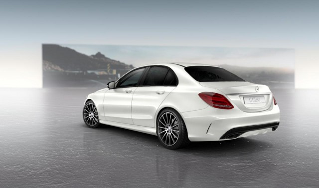 Oficial: Mercedes C Night Package 4