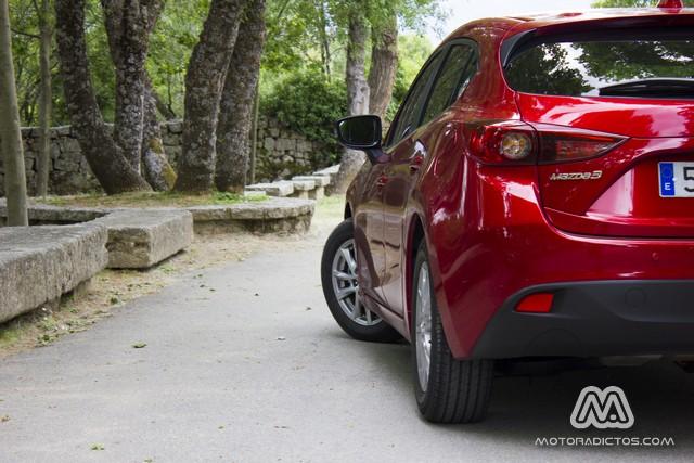 Prueba: Mazda 3 SkyActiv-G 100 CV (diseño, habitáculo, mecánica) 5