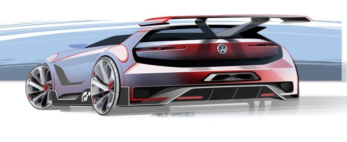 El Volkswagen Golf GTI Vision Gran Turismo estará en el Wörthersee Tour