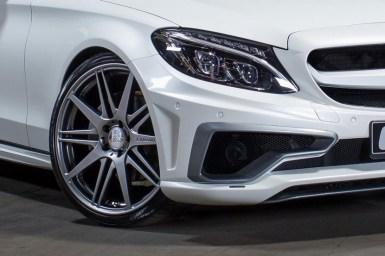Este es el Mercedes C 2014 de Carlsson
