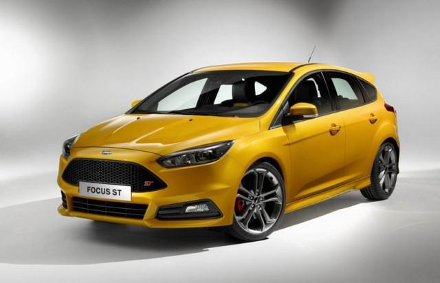 Ford Focus ST 2015: Cambios estéticos y ahora con versión TDCI 1