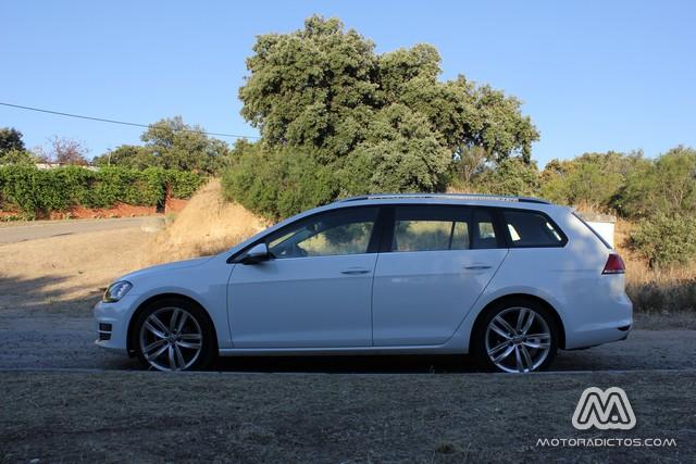 Prueba: Volkswagen Golf Variant TDI 150 CV DSG (diseño, habitáculo, mecánica) 6
