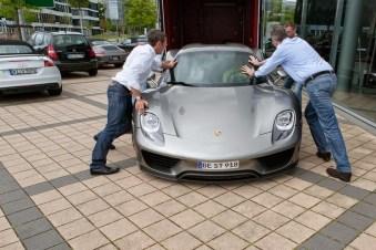 Edo Competition centra su trabajo en el Porsche 918 Spyder