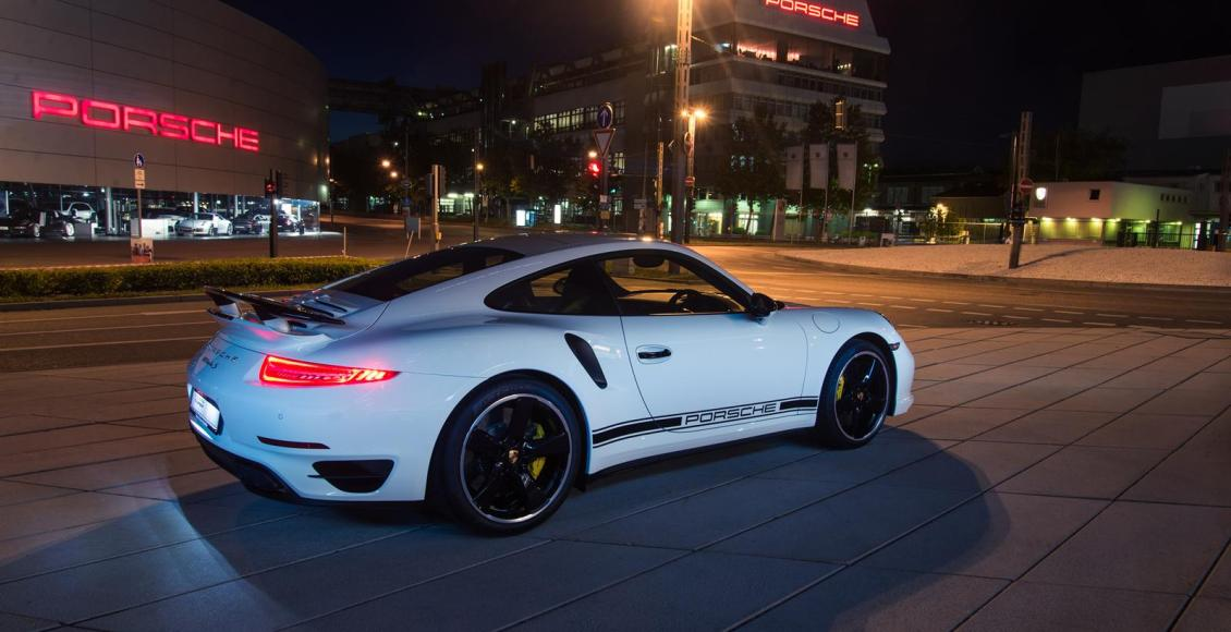 Porsche 911 Turbo S GB Edition, edición limitada exclusiva para Inglaterra 2