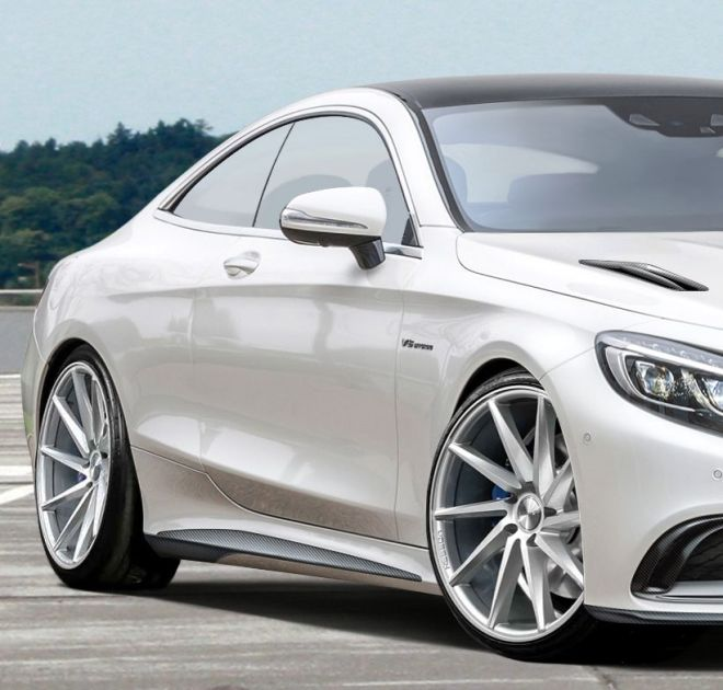 Así luce el Mercedes S63 AMG Coupé de Voltage Design