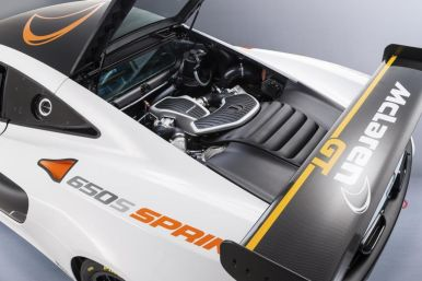 McLaren presenta el 650S Sprint, una bestia exclusiva para circuito