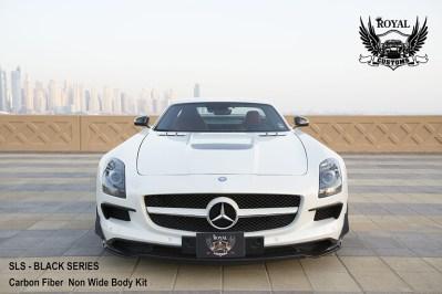 Así es el Mercedes SLS AMG Black Series de Royal Customs