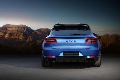 Mejoras visuales para el Porsche Macan de TopCar
