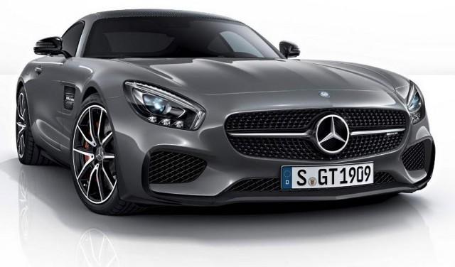 El Mercedes AMG GT Edition 1 muestra su cara por primera vez 1