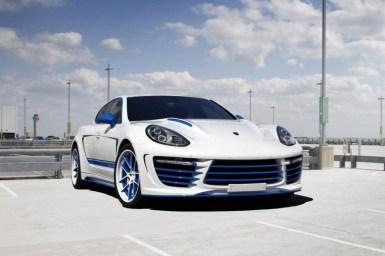 Mejoras estéticas para el Porsche Panamera por TopCar