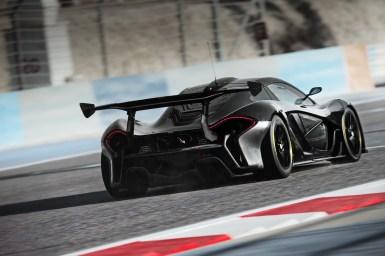 Así es el programa de alto rendimiento del McLaren P1 GTR