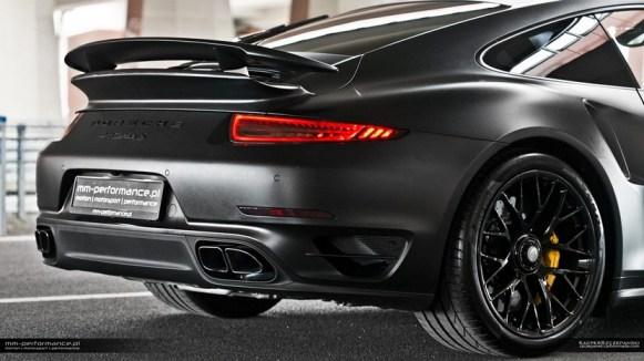 Mejoras estéticas para el Porsche 911 Turbo S de MM-Performance