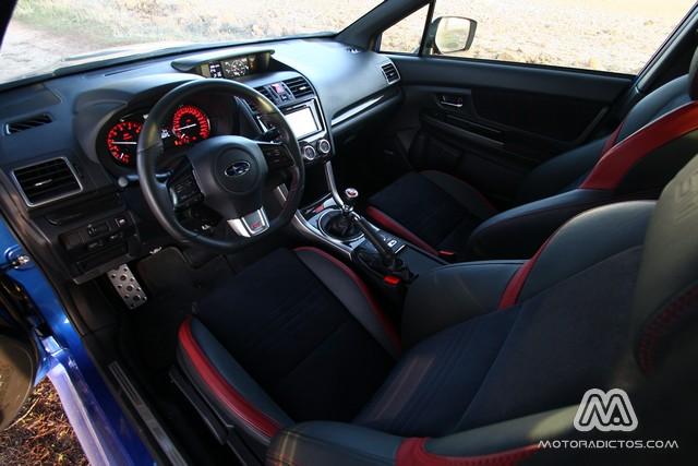 Prueba: Subaru WRX STI (diseño, habitáculo, mecánica) 12
