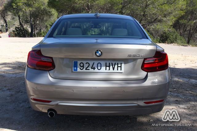 Prueba: BMW 220d coupé 184 CV Modern Line (diseño, habitáculo, mecánica) 5