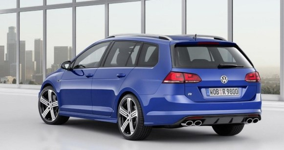 Volkswagen Golf R Variant: Potencia y espacio van cogidos de la mano