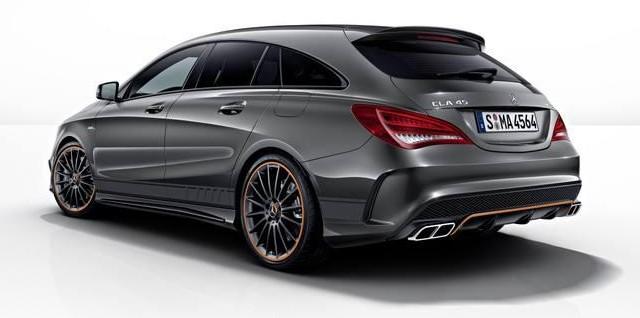 Así luce el nuevo Mercedes CLA45 AMG Shooting Brake Orange Art Edition 2