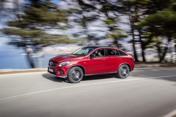Oficial: Mercedes GLE Coupe