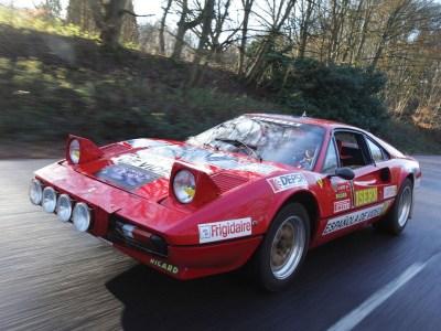 A subasta un Ferrari 308 GTB  Grupo B