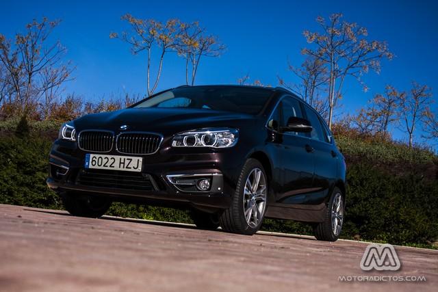 Prueba: BMW 218d Active Tourer Luxury Line (equipamiento, comportamiento, conclusión) 2