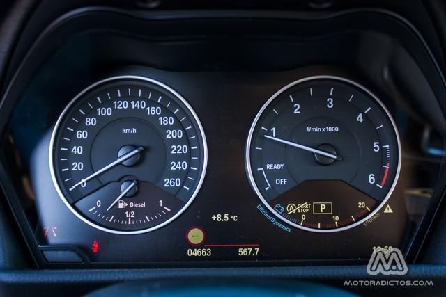 Prueba: BMW 218d Active Tourer Luxury Line (equipamiento, comportamiento, conclusión) 3