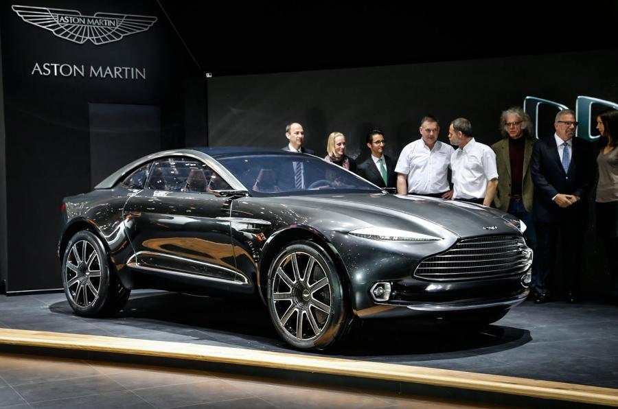 El Aston Martin DBX dará el paso, será eléctrico pero traerá sorpresa