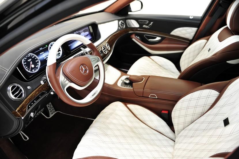 Brabus Mercedes-Maybach S600: 900 CV con el máximo lujo y refinamiento 3