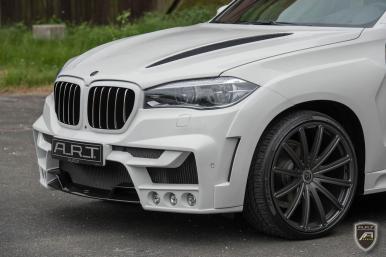A.R.T. hace de tu BMW X5 un SUV macarra