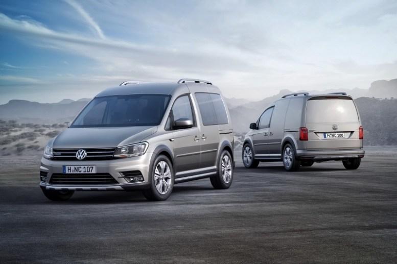 Volkswagen Caddy Alltrack: El reemplazo de la cross Cady, con tracción 4Motion