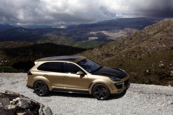 TopCar Vantage Gold Edition: 600 CV embutidos bajo un Cayenne macarra