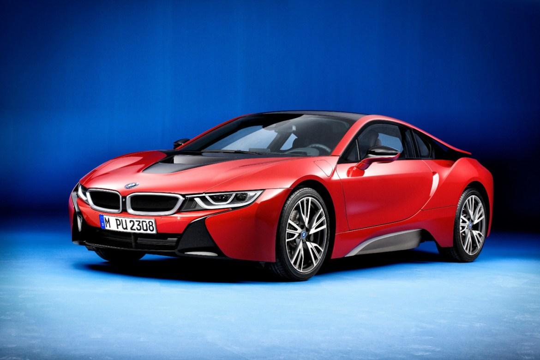 BMW i8 Protonic Red Edition: El deportivo híbrido se viste de rojo y de forma limitada 1