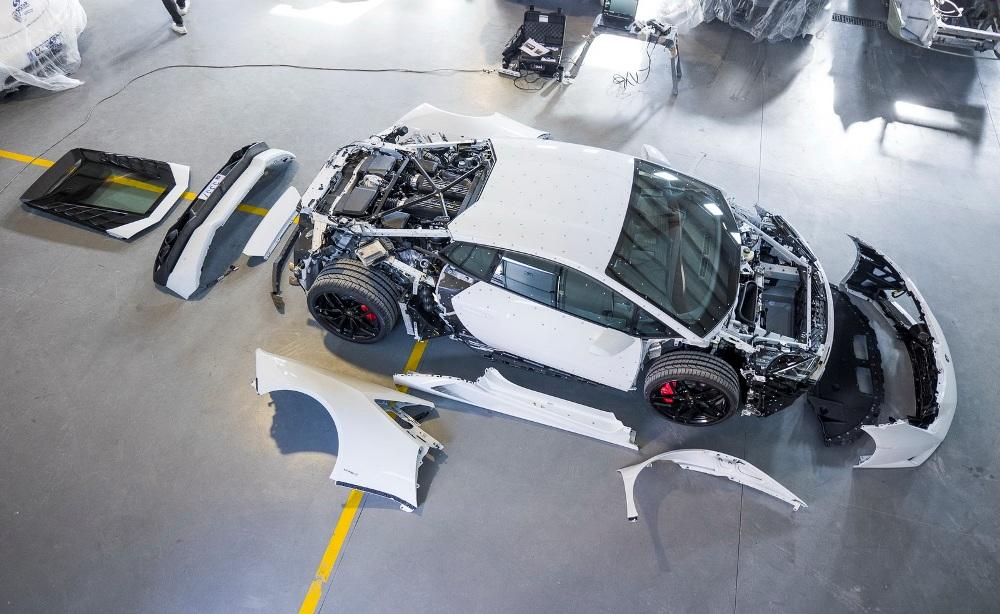 Así es el nuevo coche de Jon Olsson: Un Lamborghini Huracán en proceso 2