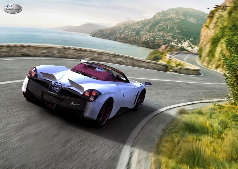 El Pagani Huayra Roadster podría hacer aparición en el Pebble Beach 1