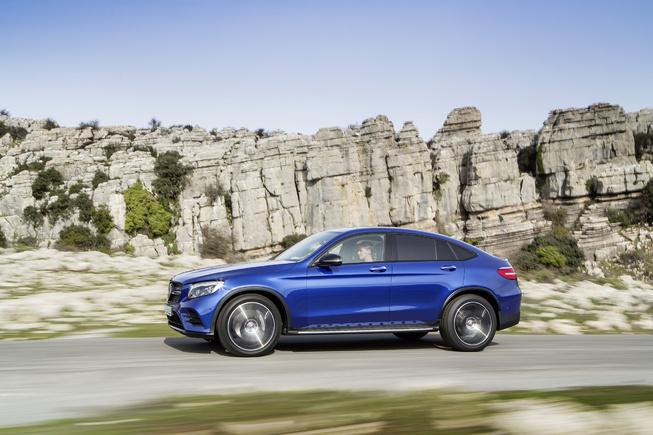 Oficial: Mercedes GLC Coupé, primeras imágenes e información 3