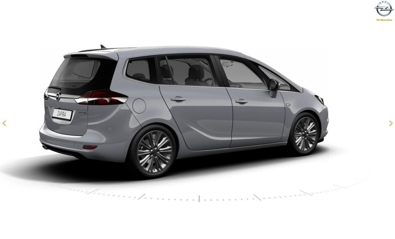 Así luce la nueva renovada Opel Zafira Tourer: Renovación interior y exterior 2
